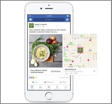 reclama facebook cresterea vizitelor in magazin